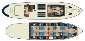 Flying Dutchman Floor plan